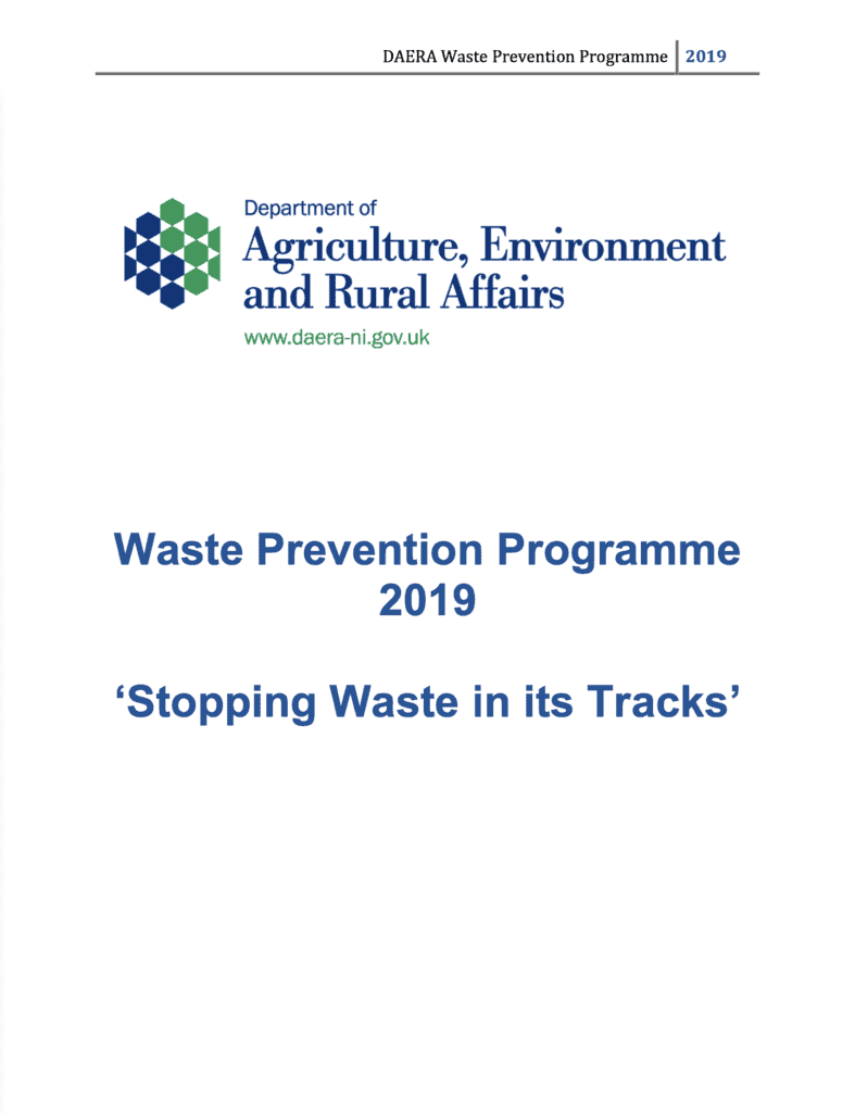 waste prevention cover